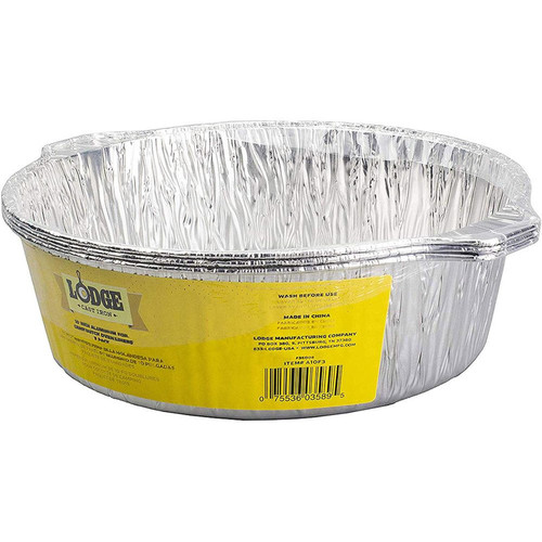 Lodge Manufacturing 10 Inch Foil Liners A10F3