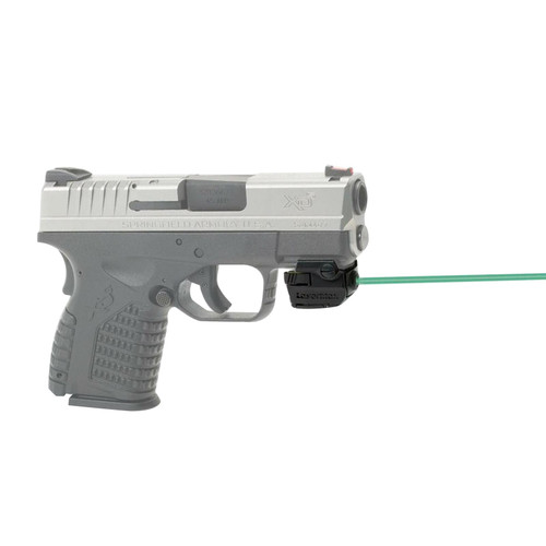 LaserMax Uni-Max Micro II External Green Laser with Integral Picatinny-Style Mount for Compact and Sub-Compact Pistols Matte