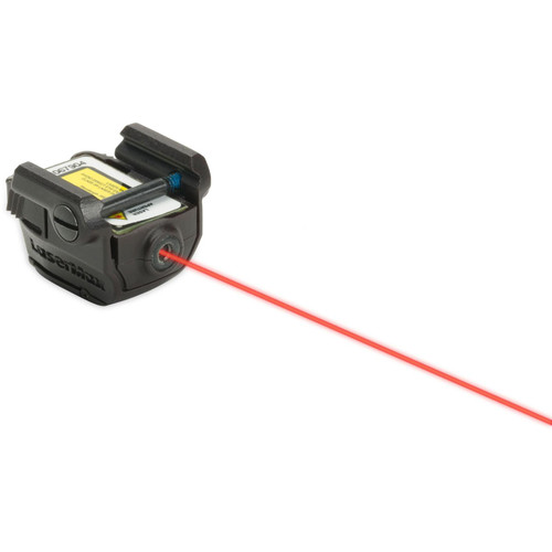 LaserMax Uni-Max Micro II External Red Laser with Integral Picatinny-Style Mount for Compact and Sub-Compact Pistols Matte