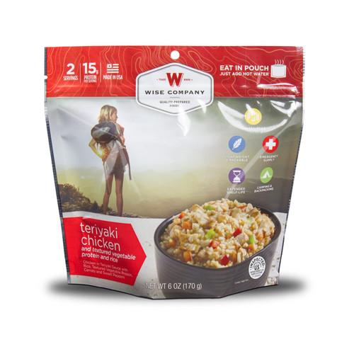Wise Company Outdoor Teriyaki Chicken & Rice Freeze Dried Food