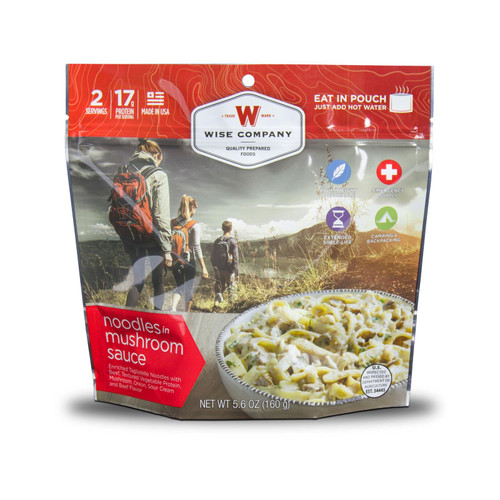 Wise Company Outdoor Noodles & Beef Freeze Dried Food