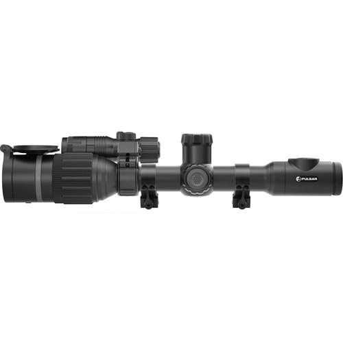 Pulsar Digex N455 Night Vison Rifle Scope 4-16x 50mm Selectable Reticle with 940 nm IR Illuminator Matte