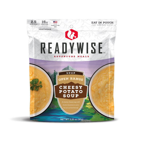 ReadyWise Open Range Cheesy Potato Soup Freeze Dried Food