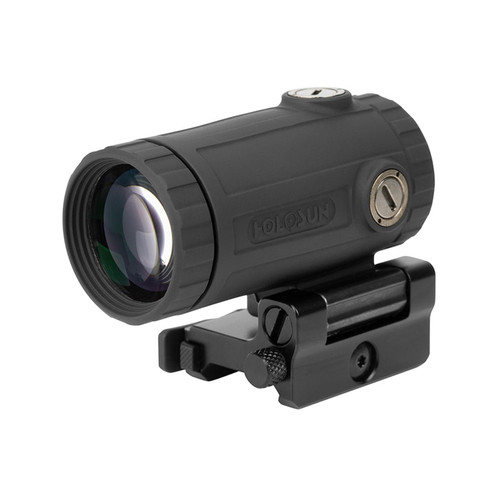 Holosun HM3XT 3x Flip Magnifier with Picatinny-Style Absolute and Lower 1/3 Co-Witness Mounts Titanium Matte