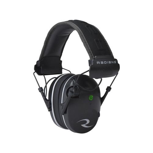 Radians R-3200 Electronic Earmuff Dual Microphone (NRR 23 dB) Black