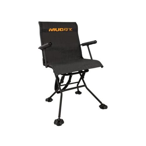 Muddy Outdoors Swivel Seat Adjustable Legs