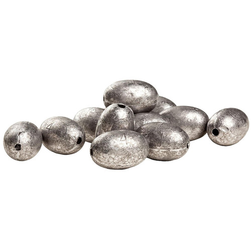 Rig'Em Right Egg Decoy Weight 4 oz Lead Pack of 12