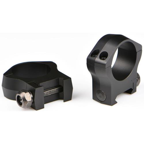 Warne 30mm Mountain Tech Picatinny-Style (STANAG) Rings Matte Medium