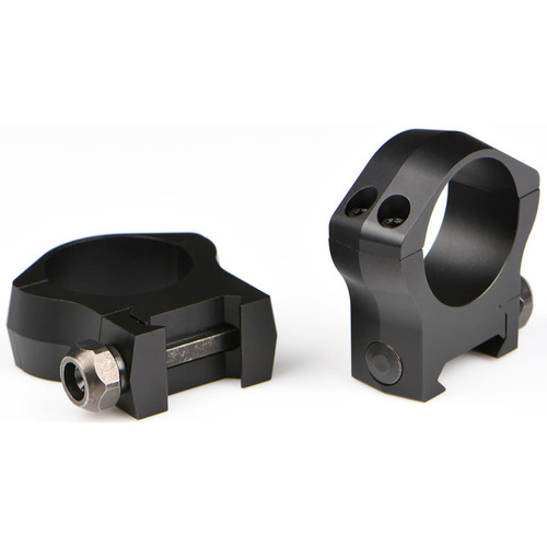 Warne 30mm Mountain Tech Picatinny-Style (STANAG) Rings Matte Low