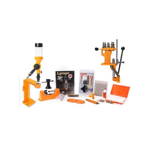 Lyman Brass Smith All-American 8-Station Turret Press Reloading Kit