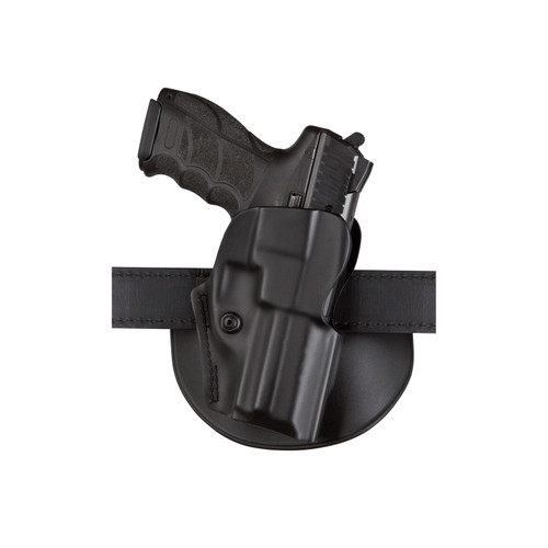 """Safariland 5198 Paddle and Belt Loop Holster with Detent Right Hand Springfield XDS 3.3"""" 9mm Luger, 45 ACP Polymer Black"""