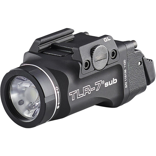 Streamlight TLR-7 Sub Weapon Light LED fits 1913 Rails with CR123A Battery Aluminum Black