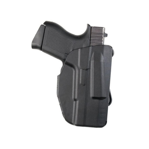 Safariland 7371 7TS ALS Concealment Micro Paddle Holster Right Hand Glock 43 with Streamlight TLR-6 Polymer Black