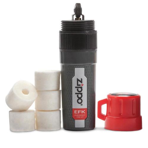 Zippo Emergency Fire Kit w/ Molded Lanyard Hole