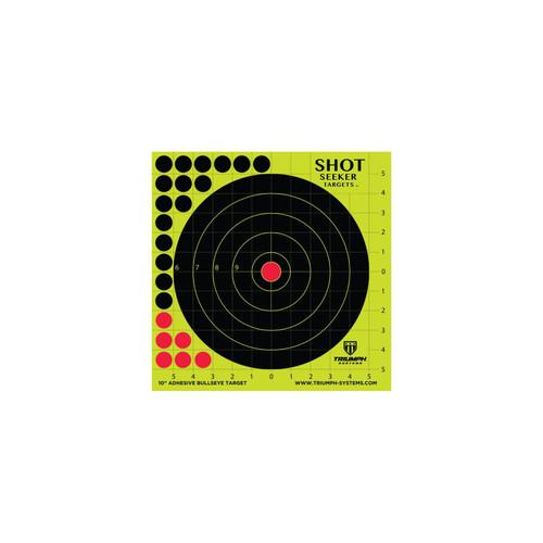 Triumph Systems Shot Seeker 10in Adhesive Bullseye Target