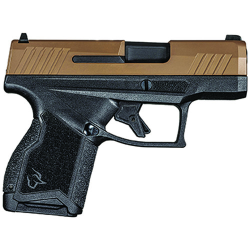 Taurus GX4 9mm Micro Compact Pistol with Troy/Coyote Cerakote Slide