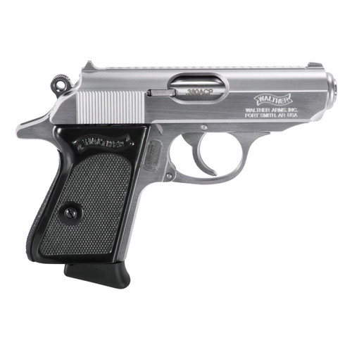 Walther PPK 380 ACP Stainless Carry Conceal Pistol