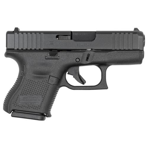 Glock 27 Gen 5 40 S&W Pistol with Front Serrations