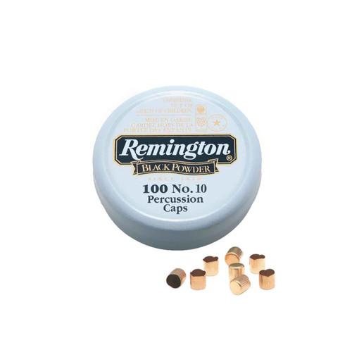 REMINGTON  22617 #10 PERCUSSION CAPS 100 CT TIN