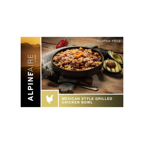 ALPINEAIRE MEXICAN STYLE GRILLED CHICKEN BOWL