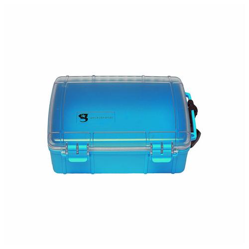 GECKOBRANDS WATERPROOF LARGE DRY BOX BLUE
