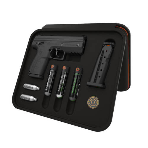 Byrna HD Max Kit - Black Non-Lethal Self Defense Weapon, 2- 5rd Mags