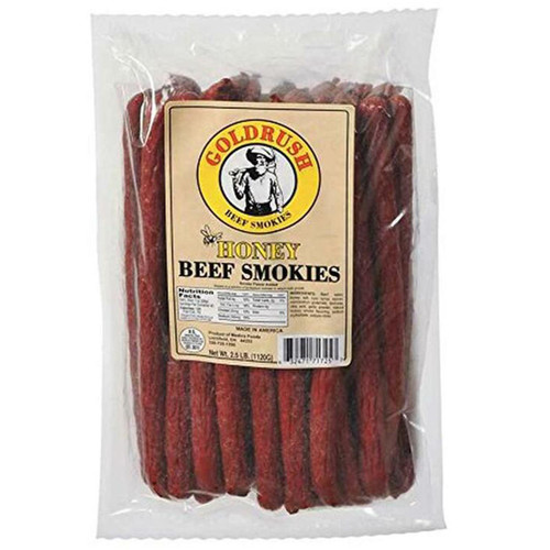 Gold Rush Honey Meat Sticks (Smokies) 2.5 Lb.