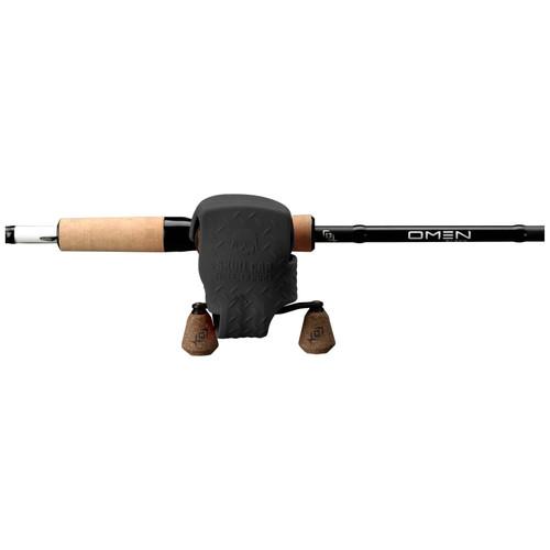 13 FISHING SKULL CAP LOW-P CAST REEL COVER RH/LH, BLACK