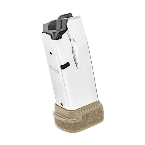 Springfield Armory Hellcat Magazine 9mm Luger 13 Rounds FDE Polymer Base Plate
