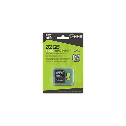Hunting Made Easy 32GB Micro SD Card, Class 10, SD Card Adapter