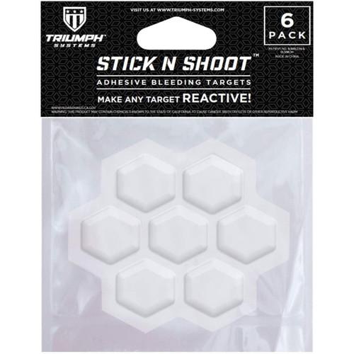 Triumph Systems Stick N Shoot 6 Adhesive Bleeding Targets