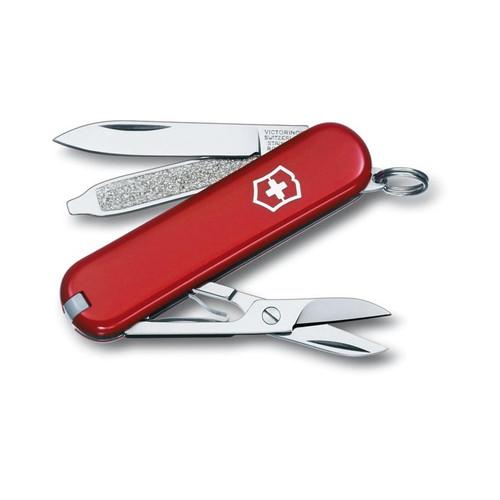 "Victorinox Swiss Army Classic SD Multi-Tool, Red, 2.25"" Closed"