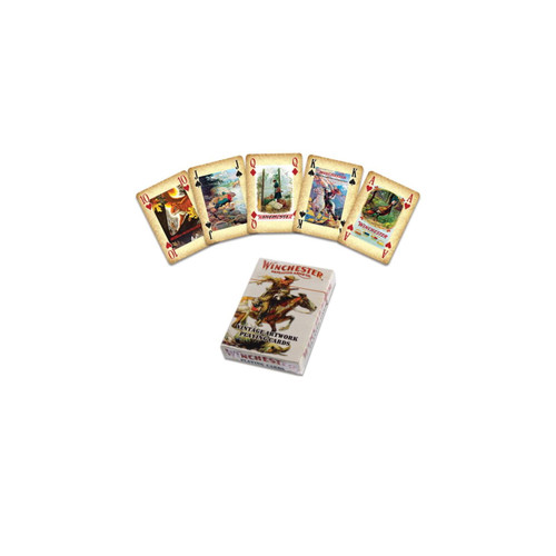 River's Edge Playing Cards - Winchester W1450