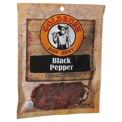 Gold Rush Premium Jerky 2.85 Oz. (Black Pepper)