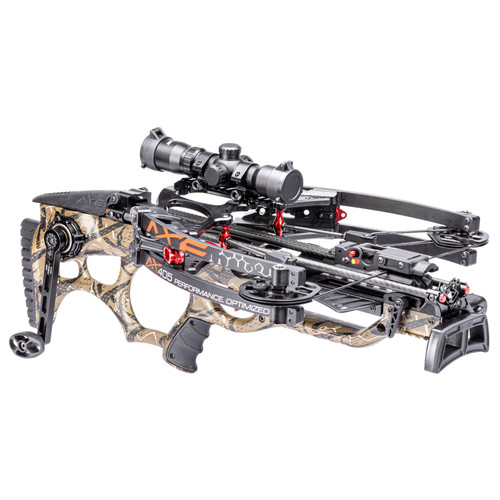 """Axe Crossbows AX40001 AX405 Package Black 27.75""""-32"""" Includes Multi-Range Scope, 3 Bolts"""