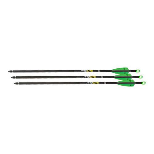 "Tenpoint Xbow Arrow Pro Lite 20"" Carbon Alpha Brite Grn 3Pk"