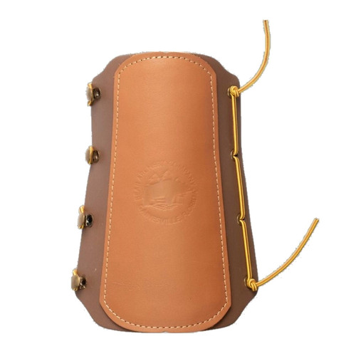Bear Archery Traditional Logo Leather Arm Guard #AT100AG
