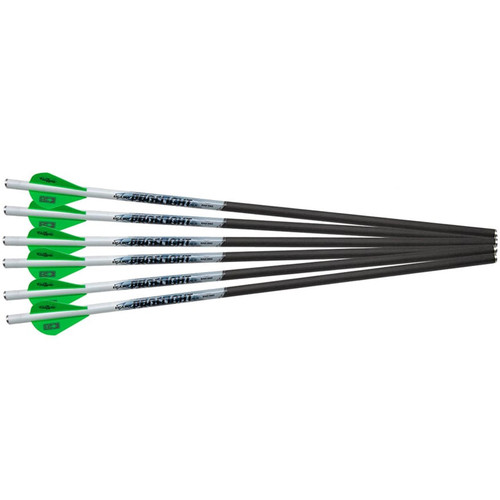 "Excalibur Proflight 16.5"" Carbon Crossbow Bolt 2"" Vanes Pack of 6"