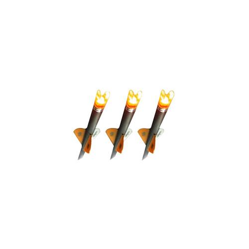 Ravin Crossbow Bolt Replacement Lighted Nocks Orange Pack of 3
