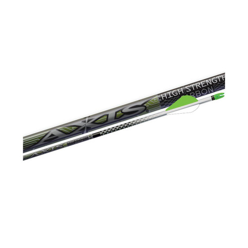 Easton Axis NFused Arrow S Arrows w/HIT Inserts 400 12 Pack 319102TF