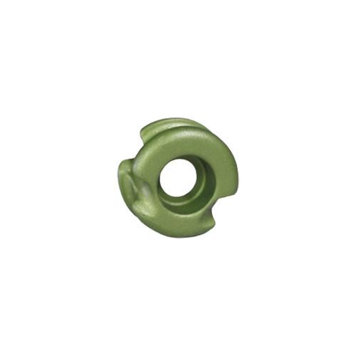 "Radical Super Deuce 38 Peep Sight Ultra Green 1/4"""