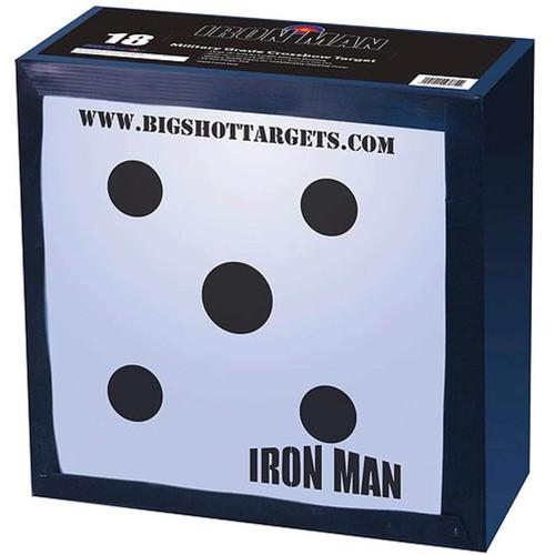 "Bigshot Archery Targets Iron Man 18` Crossbow Target 18"" x18"" x12"", IM 18"