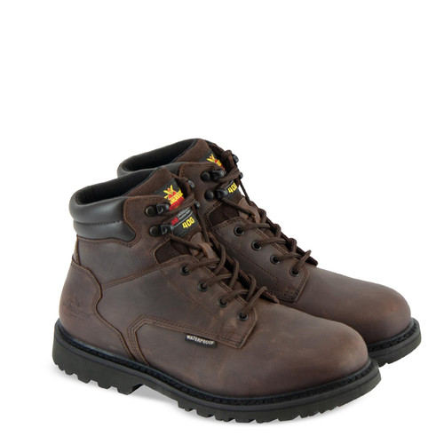 Thorogood Mens V Series WP Insulated 6 Inch Crazyhorse Boots 864-4280