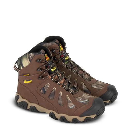 "Thorogood Mens Crosstrex Camo 6"" Insulated WP Hiker Boots 863-7078"
