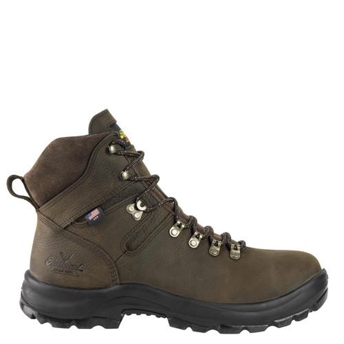 "Thorogood Men's American Union Series 6"" Waterproof Brown Boots"