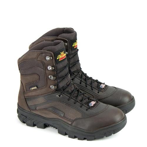 Thorogood Mens Veracity GTX Waterproof 8 Inch Brown Boots 864-4200