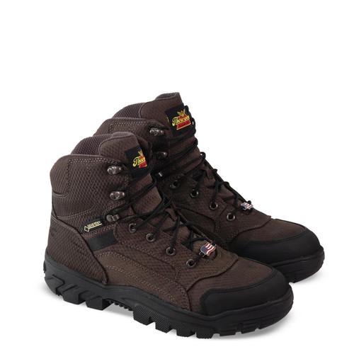 Thorogood Mens Apex Predator GTX Waterproof 6 Inch Brown Boots 864-4100