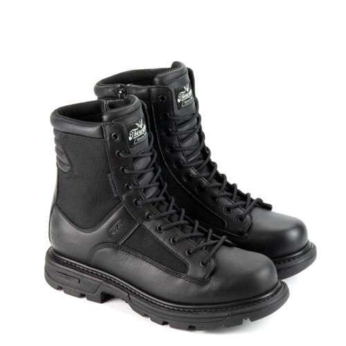 """Thorogood DG Gen Flex2 Waterproof 8"""" Tactical Side Zip Black Boots 834-7991"""