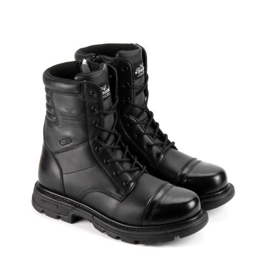 Thorogood DG Gen Flex2 8 Inch Tactical Side Zip Jump Black Boots 834-6888