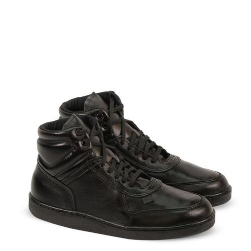 Thorogood Mens Code 3 Series Mid Cut Oxford Blakc Boots 834-6444